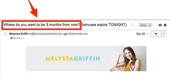 SUMO Example Of Melyssa Griffin