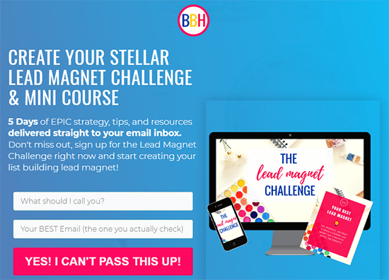 Blog Brand Hustle Lead Magnet