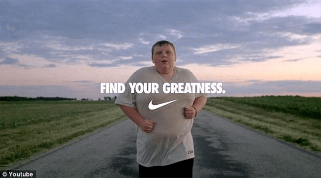 Find Your Greatness Nike Ad Difference In Storytelling