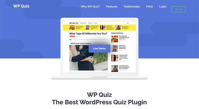 WP Quiz Plugin