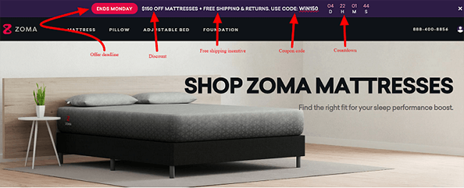 Zoma Special Offer