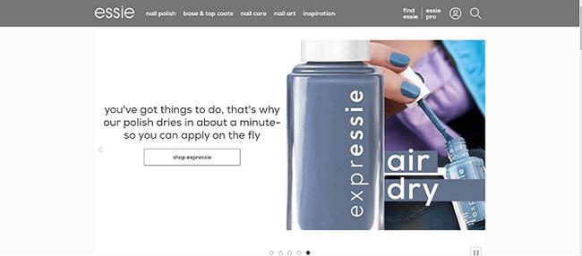 essie nail polish description