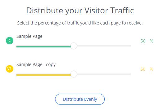 25 Distribute your visitors