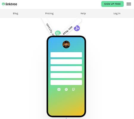Linktree Instagram Bio Tool