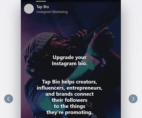 Tap.bio Instagram Bio Tool