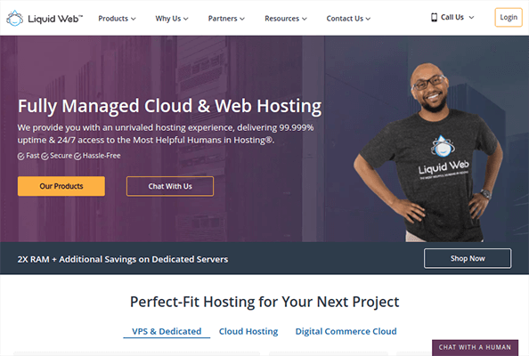 liquid web dedicated hosting