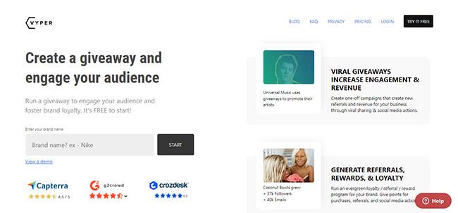 Vyper Homepage