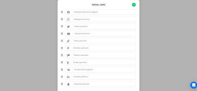 17 Add social links