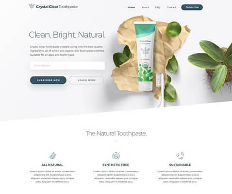 17 Natural healthcare products using green