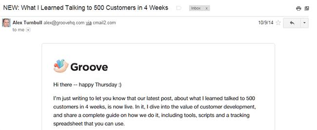 Alex Turnbull email GrooveHQ