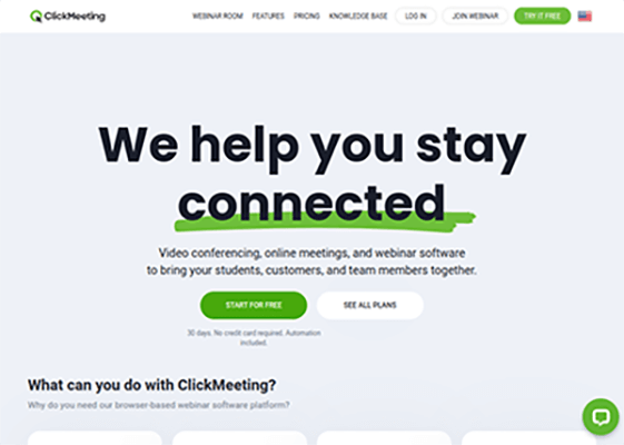 ClickMeeting - Webinar Software