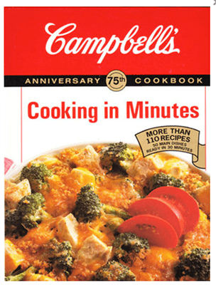 Inbound Marketing Example - Campbells content