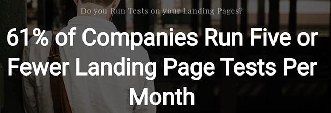 Landing Page Statistic 19