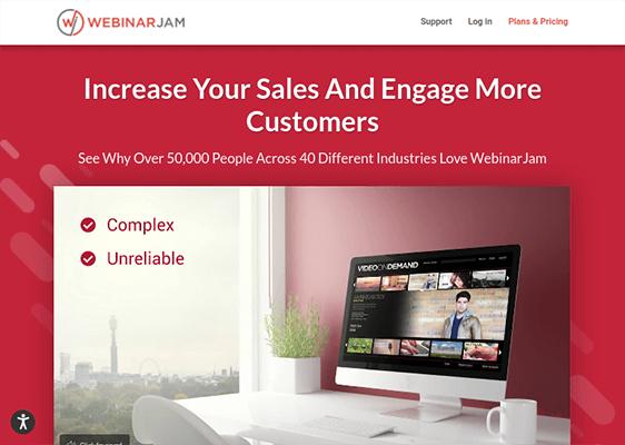 WebinarJam - Webinar Software