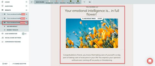 improve emotional intelligence quiz high score