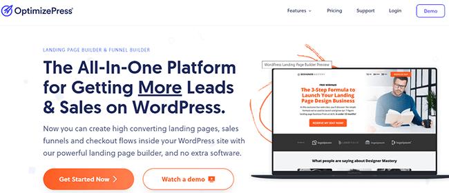OptimizePress Homepage