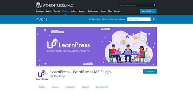 LearnPress Homepage