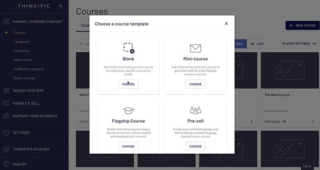 Thinkific Learning Dashboard