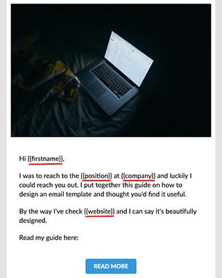 Automizy advanced editor