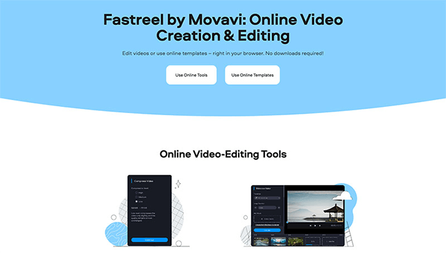 Fastreel Homepage