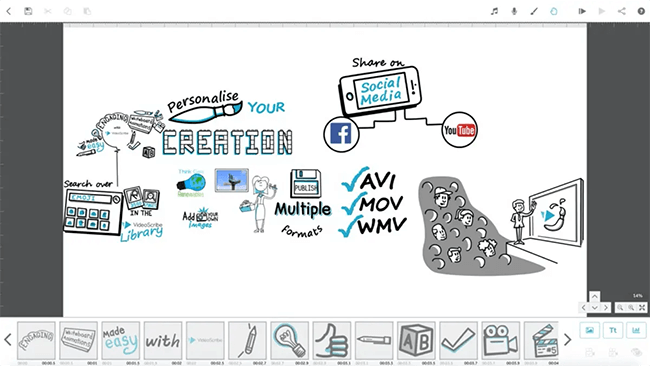 VideoScribe Homepage