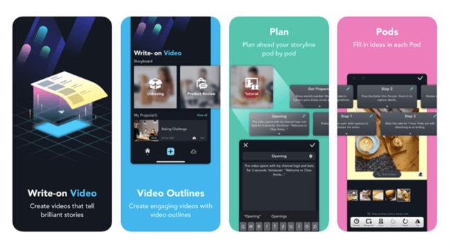 Write-On Video Homepage