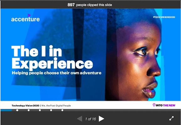 Accenture Slideshare example