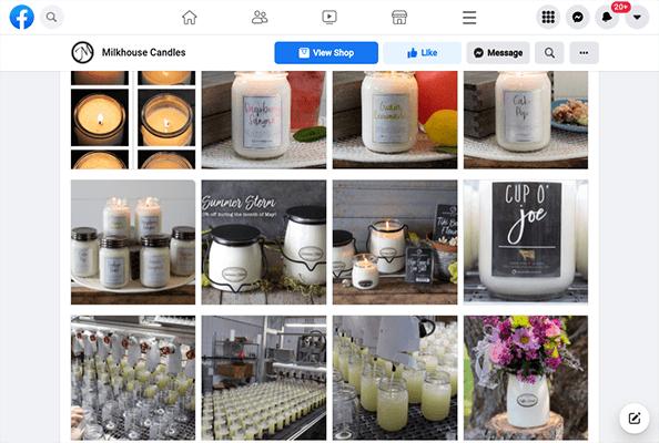 milkhouse candles facebook photos