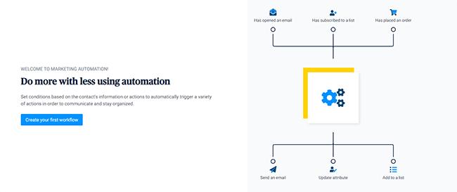 02 Sendinblue email automation
