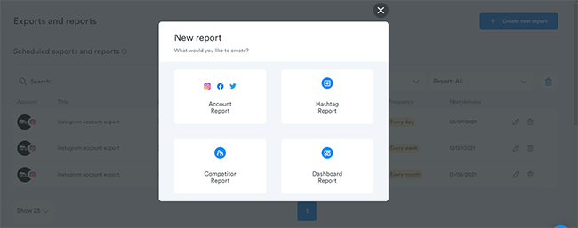 14 Download reports manually or scheduled