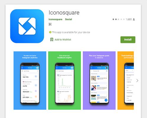 21 Iconosquare app