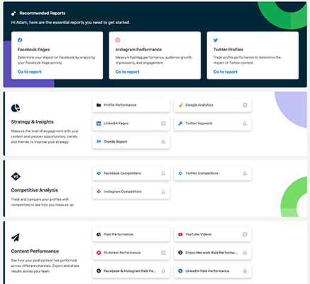 Analytics and reporting with Sprout Social