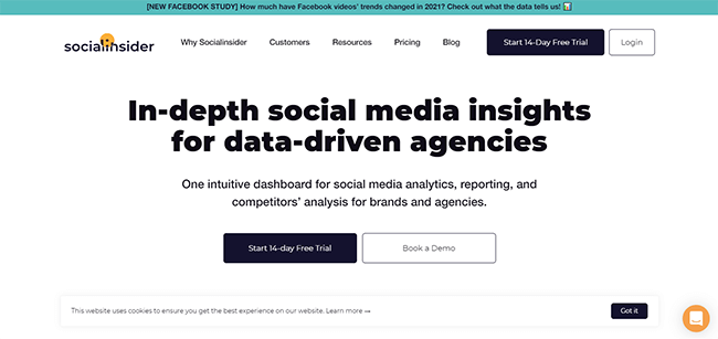 SocialInsider Homepage